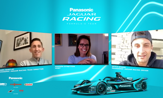 "Jaguar Racing lanza ""RE: Charge at Home"" una serie de video podcast"
