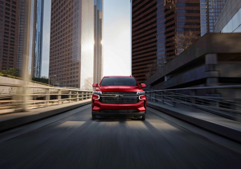 Chevrolet Tahoe y Suburban 2021